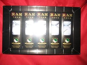 RAM TOUR Titanium Distance Golf Balls 15 Pak Box set by RAM