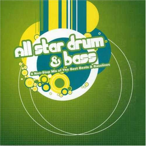 All Star Drum & Bass DnB Audio CD with Various Artists by Swank Recordings label, A great DnB compilation