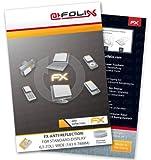 atFoliX Displayschutzfolie für Standard-Display 6,5 Zoll wide (143 x 78mm) - FX-Antireflex: Display Schutzfolie antireflektierend! Höchste Qualität - Made in Germany!