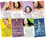 Barbara Taylor Bradford Barbara Taylor Bradford 8 Books Collection Pack Set RRP: £55.92 (Remember, Act of Will, Dangerous To Know, ANGEL, Three Weeks in Paris, A Sudden Change of Heart, A Women of Substance, Hold the Drea)