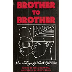 Brother to Brother: New Writings by Black Gay Men, First Edition