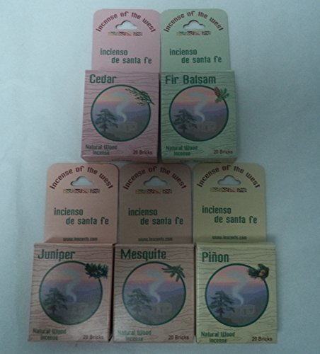 Inciensio Sante Fe: Best Seller Assorted 100 Incense Bricks (Cone Incense Campfire compare prices)