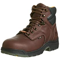 "Hot Sale Timberland PRO Men's 26078 Titan 6"" Waterproof Safety-Toe Work Boot,Brown,12 M"