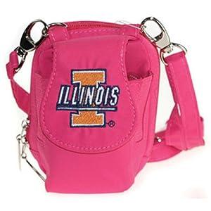 Buy University of Illinois Fightin Illini PursePlus, Dark Pink by Charm14