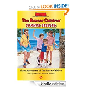 Kindle Daily Deal: The Boxcar Children Summer Special: Three Adventures of the Boxcar Children, by Albert Whitman. Publisher: Albert Whitman and Company (June 14, 2011)