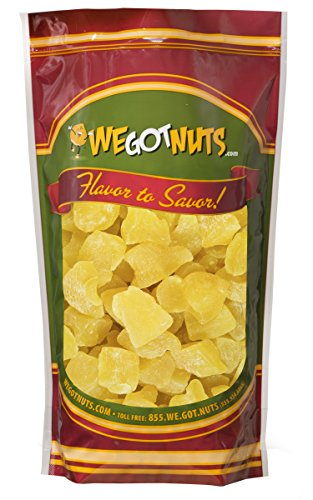 Pineapple Chunks ~ 5 Lbs. Bag - We Got Nuts (Pineapple Dried Fruit compare prices)