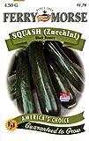 Ferry-Morse Seeds 1368 Squash - Black Beauty (Zucchini) 4.5 Gram Packet