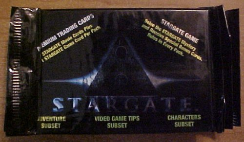 1994 Stargate Premium Trading / Game Cards [PACK]
