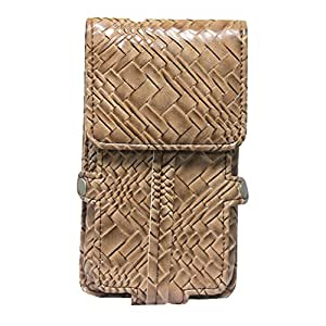 Jo Jo A6 Bali Series Leather Pouch Holster Case For ZTE Nubia Z9 Classic Tan