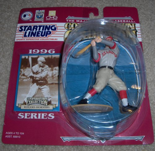 1996 Rogers Hornsby MLB Cooperstown Collection Baseball Starting Lineup Figure