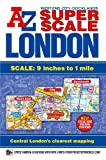 img - for Super Scale London Street Atlas A-Z (London Street Atlases) book / textbook / text book