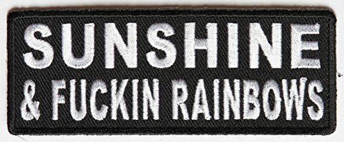 sunshine-fuckin-rainbows-patch
