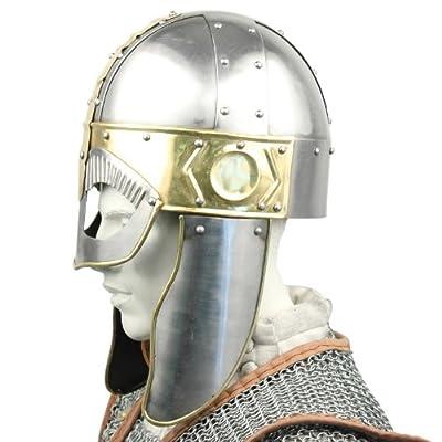 Dark Age Barbarian Viking Warrior Body Armor Helmet Hat