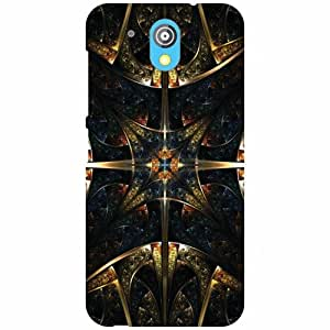 HTC Desire 526G Plus Back Cover - Abstract Designer Cases