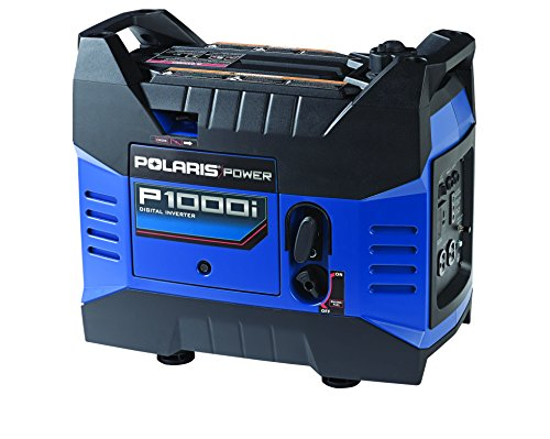 Polaris P13Gdgana Power P1000I Portable Gas Powered Digital Inverter Generator, 1000-Watt