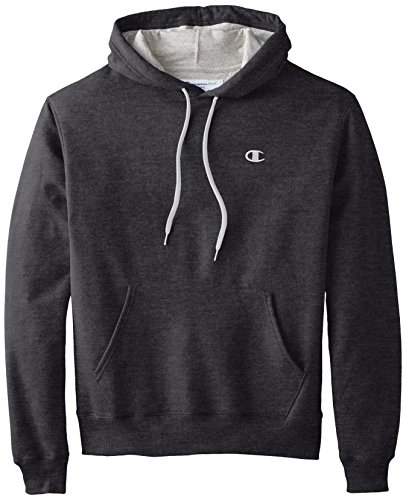 Champion Men's Pullover Eco Fleece Hoodie, Granite Heather, XXX-Large