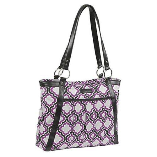 kailo-chic-casual-154-laptop-tote-purple-gray-moroccan