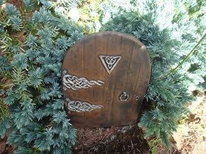 Medium garden fairy hobbit door ideal for gardens and for Amazon uk fairy doors