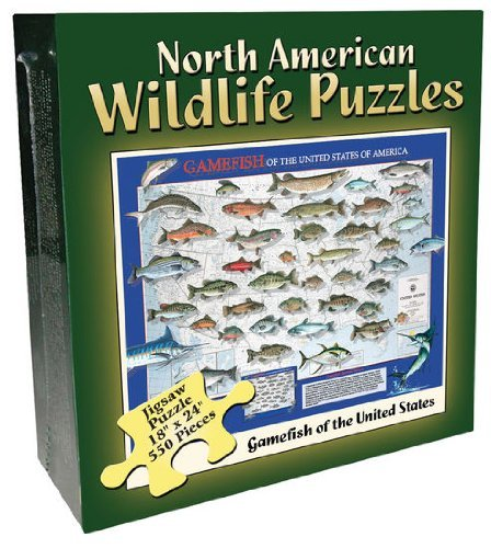 550 Pc-Gamefish Boxed