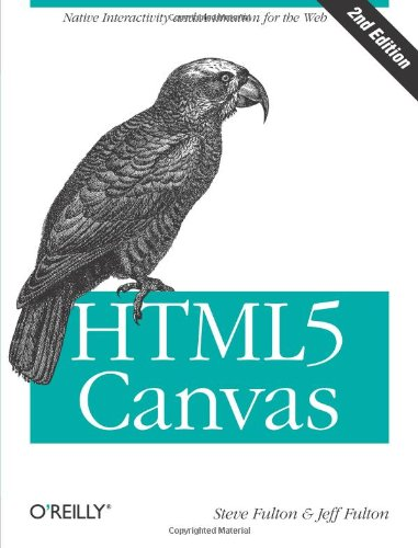 Large book cover: HTML5 Canvas