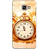 PrintVisa Designer Back Case Cover For Samsung Galaxy On Max (Vintage Analog Clock )