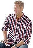 Kingsize Mens Big & Tall Long Sleeve Plaid Sport Shirt