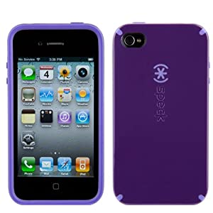 Speck Products CandyShell Case Series for Apple iPhone 4 (Purple)