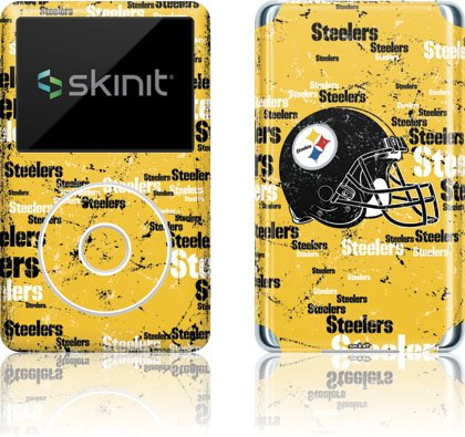 NFL - Pittsburgh Steelers - Pittsburgh Steelers - Blast - iPod Classic (6th Gen) 80 / 160GB - Skinit Skin at Steeler Mania