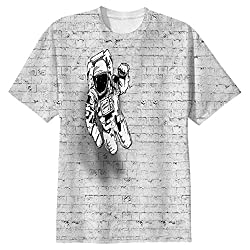 Snoogg Mr.Four Fingers Mens Casual All Over Printed T Shirts Tees