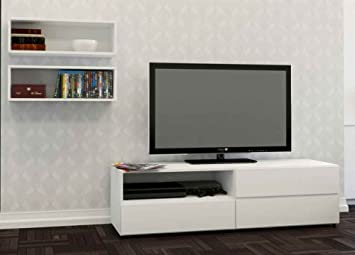 3-Pc Eco-Friendly Modern Entertainment Set
