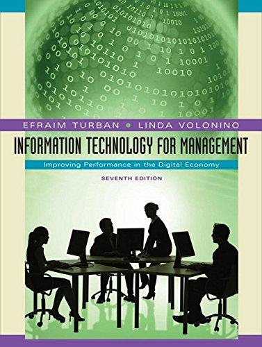 Information Technology for Management: Improving...