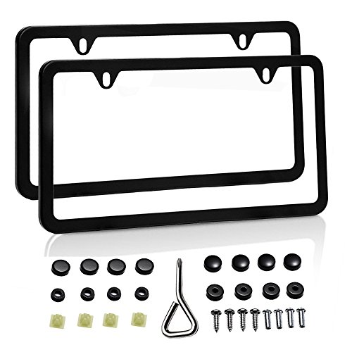 big-ant-slim-bottom-car-license-plate-frame-with-screw-caps-aluminum-alloy-coated-cover-avoid-blocki