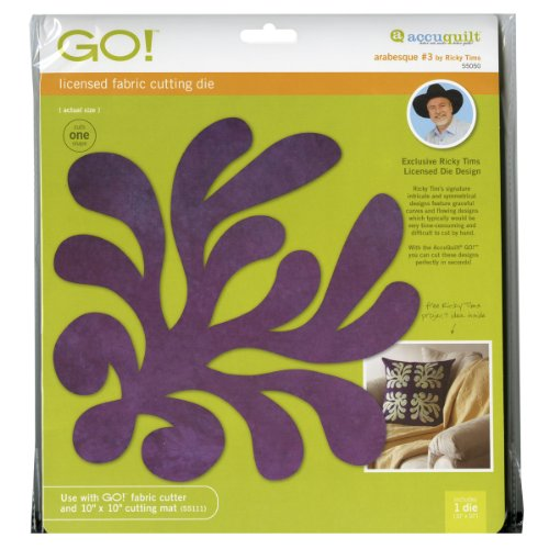 Accuquilt Go! Fabric Cutting Dies; Ricky Tims Arabesque #3 front-151830