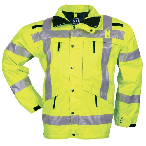 5.11 #48014 Y High-Visibility Reflective Reversible Parka ( Large)