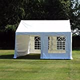 4m x 4m (13ft x 13ft) Commercial Grade Heavy Duty Marquee. Marquees | Party Tent | Partytent | Event Tent | Wedding Tent | Gazebo | Gazebos | Market Stall.