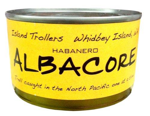 Albacore Tuna Troll Caught Dolphin Safe Sashimi Grade North Pacific Pack of 2 Habanero 212 g 7.5 oz each