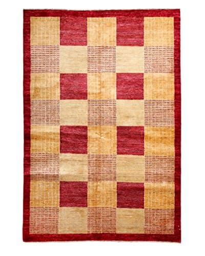 Darya Rugs Modern Oriental Rug, Red, 5' 7 x 8' 2