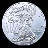 2013 American Silver Eagle Dollar in Brilliant Uncirculated (BU) Condition