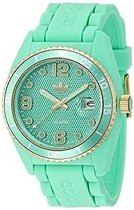 Adidas ADH2940 Brisbane Green Silicone Strap & Dial Unisex Watch