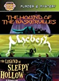 Murder & Mystery: The Hound of the Baskervilles/Macbeth/The Legend of Sleepy Hollow (Bank Street Graphic Novels)