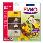Staedtler 802439L1 - Fimo Soft Set Zoo