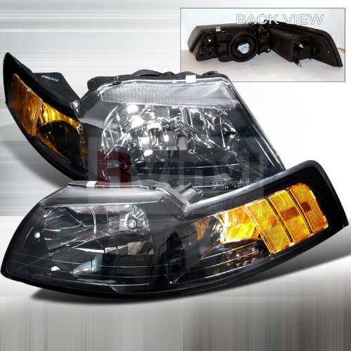 24+ 2000 Mustang Headlights
