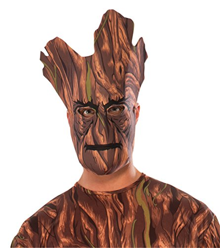 Rubie's Costume Guardians of the Galaxy Groot Fabric Mask - 1