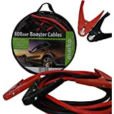 800AMP 35mm² 4M 12FT Jump Leads Heavy Duty Booster Cables Car Vehicle Battery