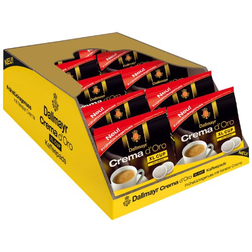 Find Dallmayr Coffee Pods Crema d Oro XL Cup, Pack of 10, 10 x 10 Pods - Alois Dallmayr
