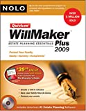 Quicken Willmaker Plus 2009 Edition: Estate Planning Essentials (Book with Software)