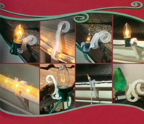 037063800162 - Adams Mfg./Christmas 9003991634 All-Purpose Light Holder carousel main 1