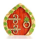 Resin Fairy Garden Door 3.75 x 3.875 x .375 Inches