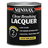 Minwax Brushing Lacquer 155050000, Quart, Clear (Color: Clear, Tamaño: Quart)