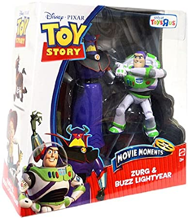 Toy Story Movie Moments Basic Figure 2-Pack - Zurg and Buzz Lightyear